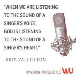 Worship Quote Voice In Ministry